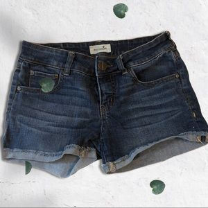 4/30$$$ Bootlegger Denim Shorts